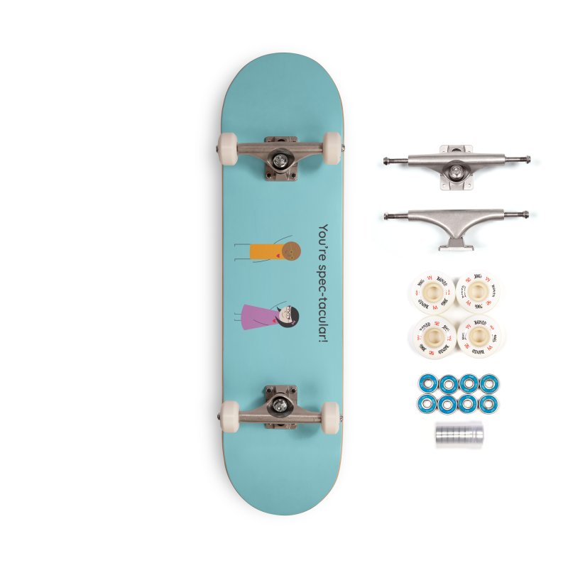Specs Accessories Complete - Premium Skateboard by {mostly} Smiling Sticks