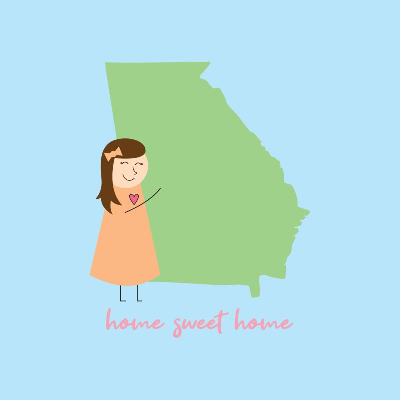 Georgia Home Blanket by {mostly} Smiling Sticks