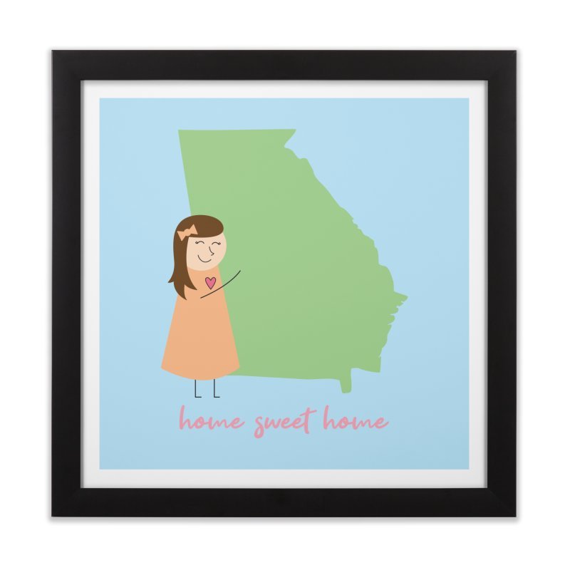 Georgia Home Framed Fine Art Print by {mostly} Smiling Sticks