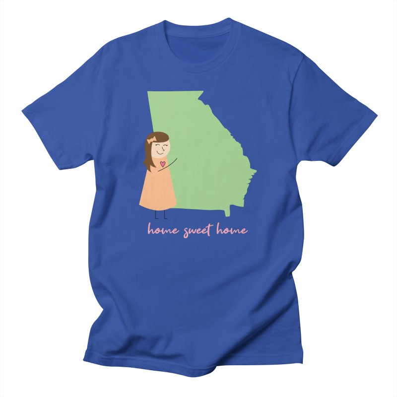 Georgia Men's T-Shirt by {mostly} Smiling Sticks