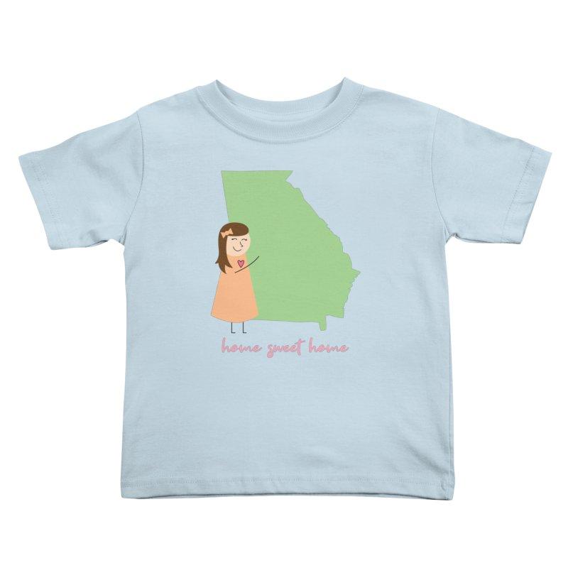 Georgia Kids Toddler T-Shirt by {mostly} Smiling Sticks