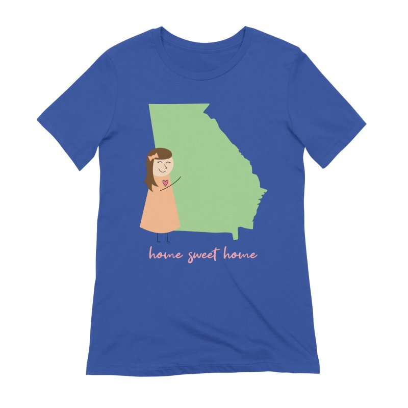 Georgia Women's T-Shirt by {mostly} Smiling Sticks