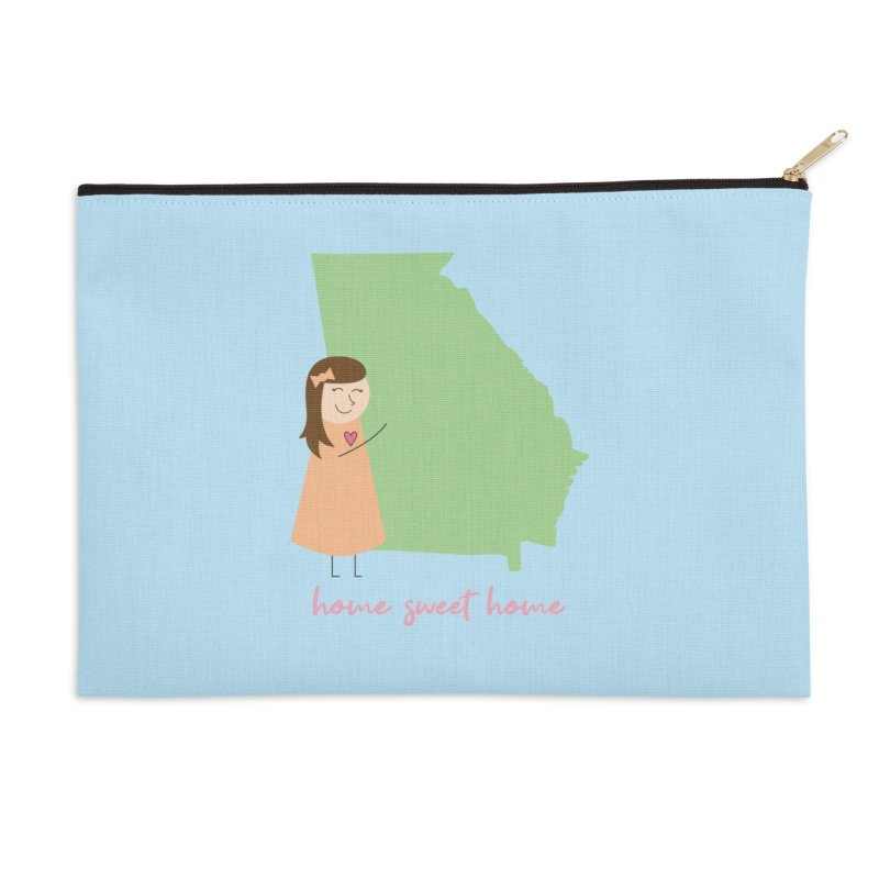 Georgia Accessories Zip Pouch by {mostly} Smiling Sticks