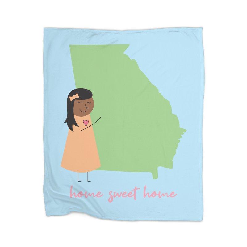 Georgia Hug Home Blanket by {mostly} Smiling Sticks