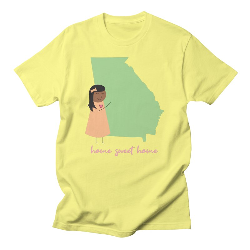 Georgia Hug Women's T-Shirt by {mostly} Smiling Sticks