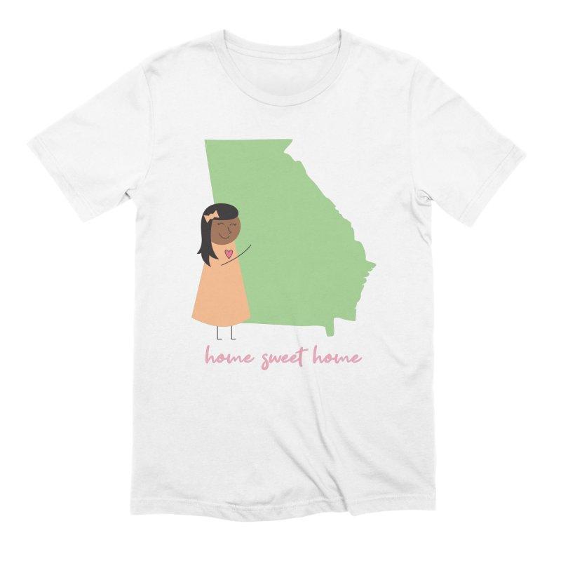 Georgia Hug Men's T-Shirt by {mostly} Smiling Sticks