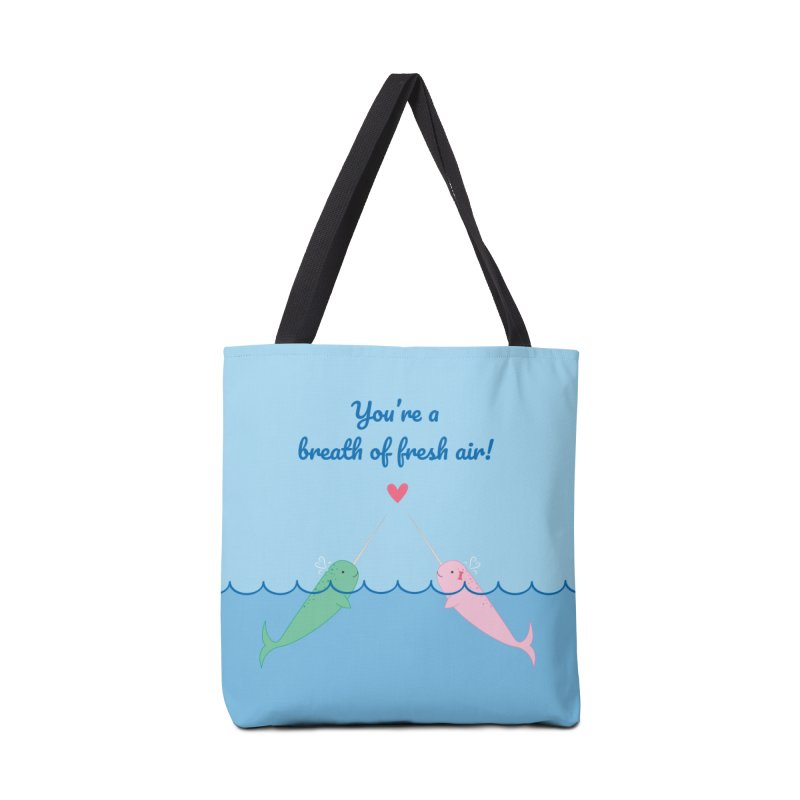Narwhal Accessories Bag by {mostly} Smiling Sticks