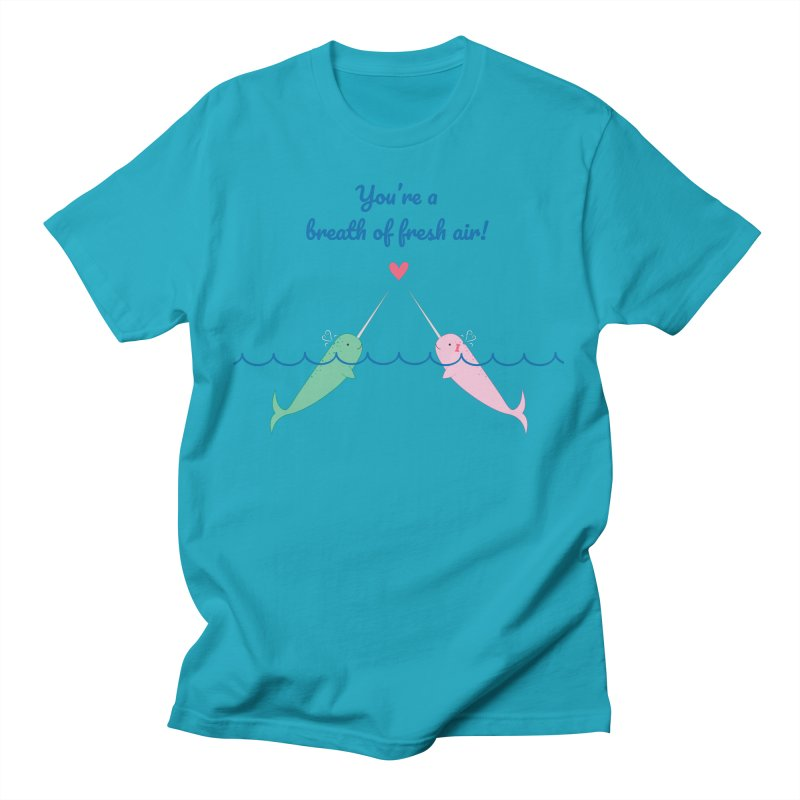 Narwhal Lads T-Shirt by {mostly} Smiling Sticks