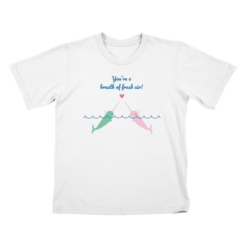 Narwhal Kids T-Shirt by {mostly} Smiling Sticks