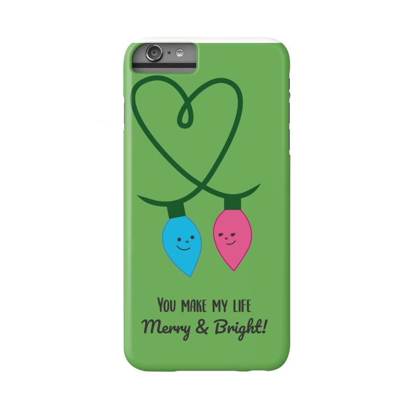 Christmas Lights Accessories Phone Case by {mostly} Smiling Sticks