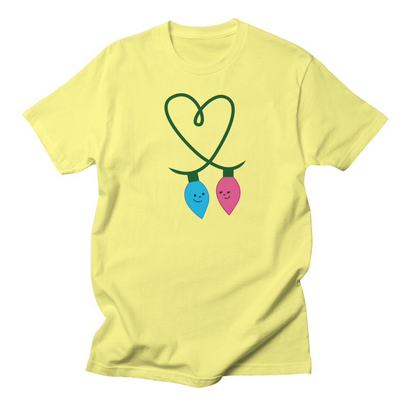 Christmas Lights Women's T-Shirt by {mostly} Smiling Sticks