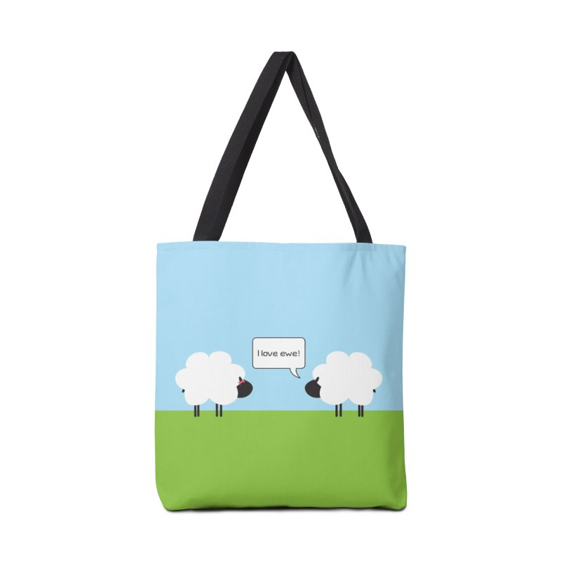 I Love Ewe Accessories Bag by {mostly} Smiling Sticks