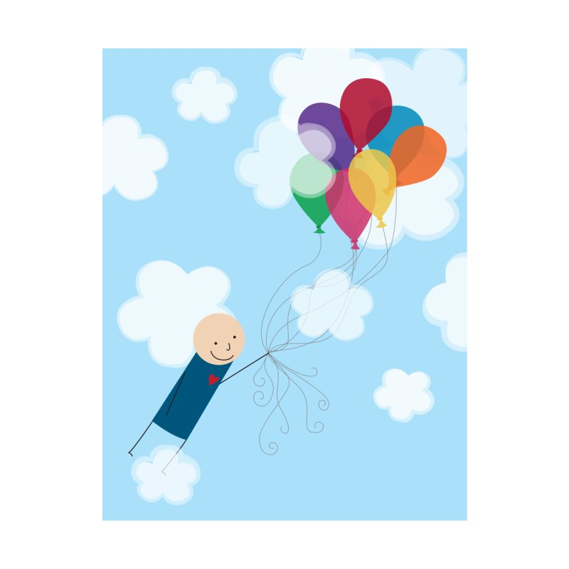 Balloons Home Blanket by {mostly} Smiling Sticks