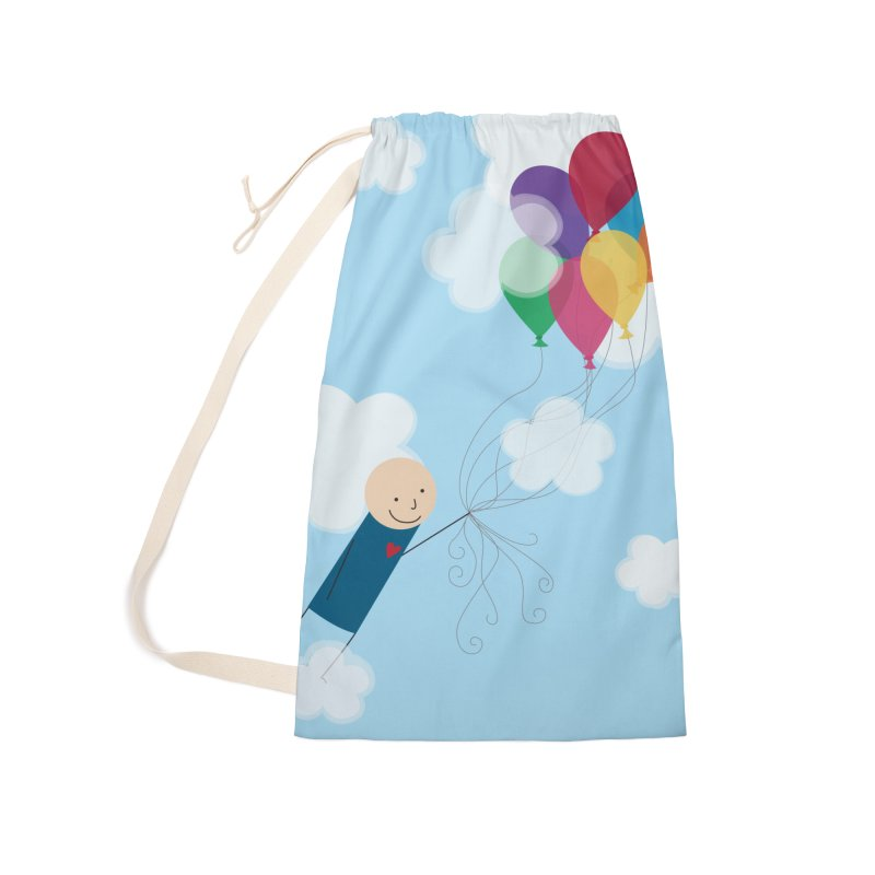 Balloons Accessories Laundry Bag Bag by {mostly} Smiling Sticks