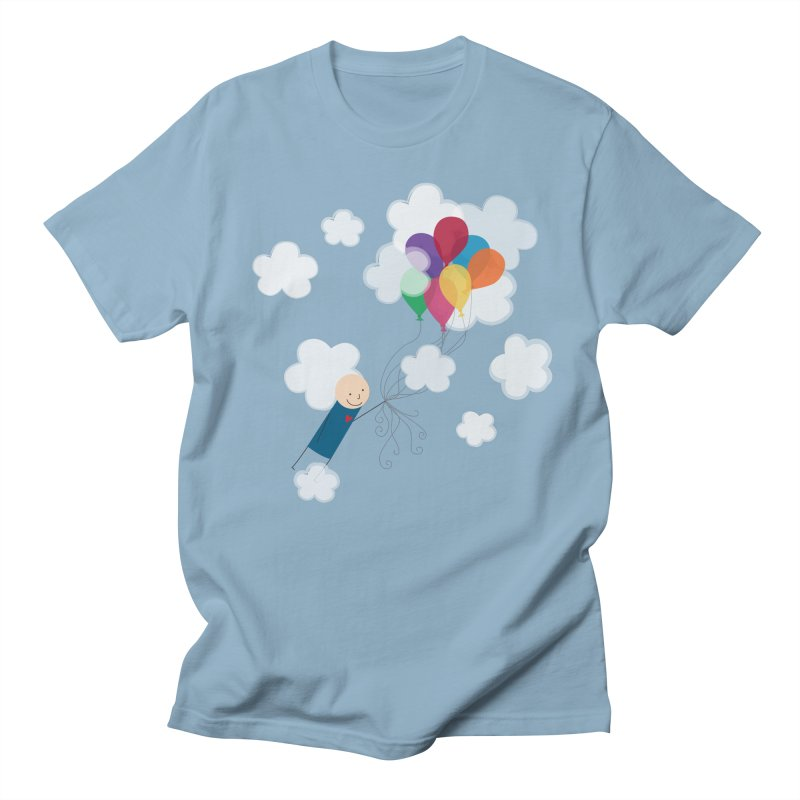 Balloons Men's T-Shirt by {mostly} Smiling Sticks