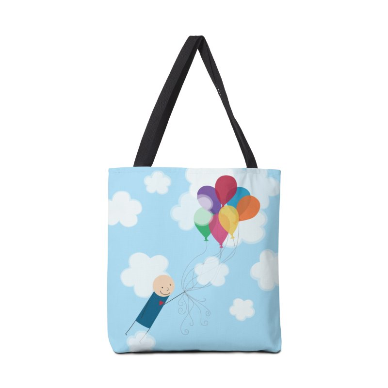 Balloons in Tote Bag by {mostly} Smiling Sticks