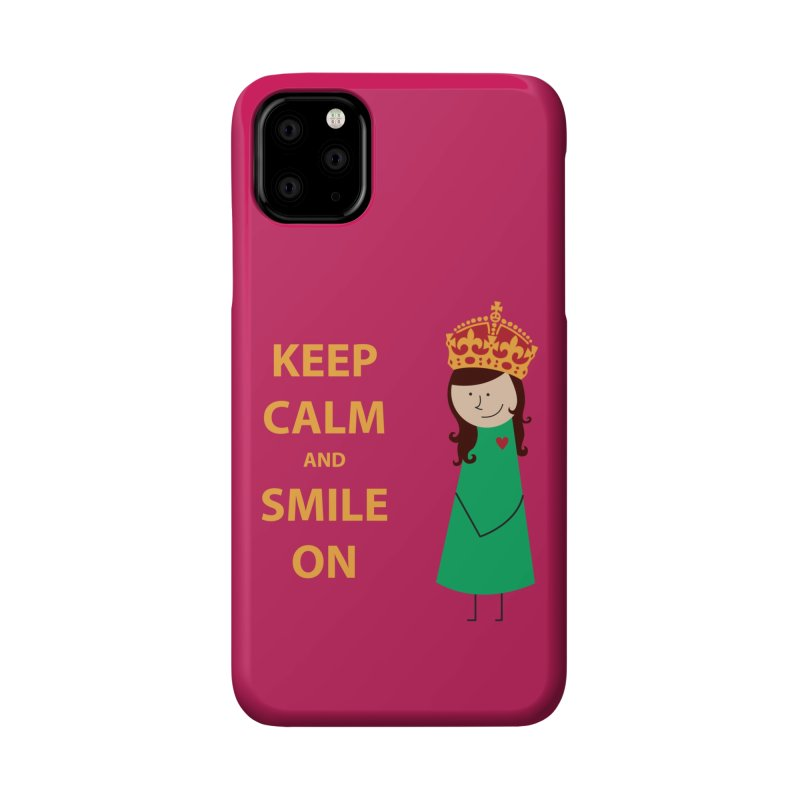 Smile On Accessories Phone Case by {mostly} Smiling Sticks