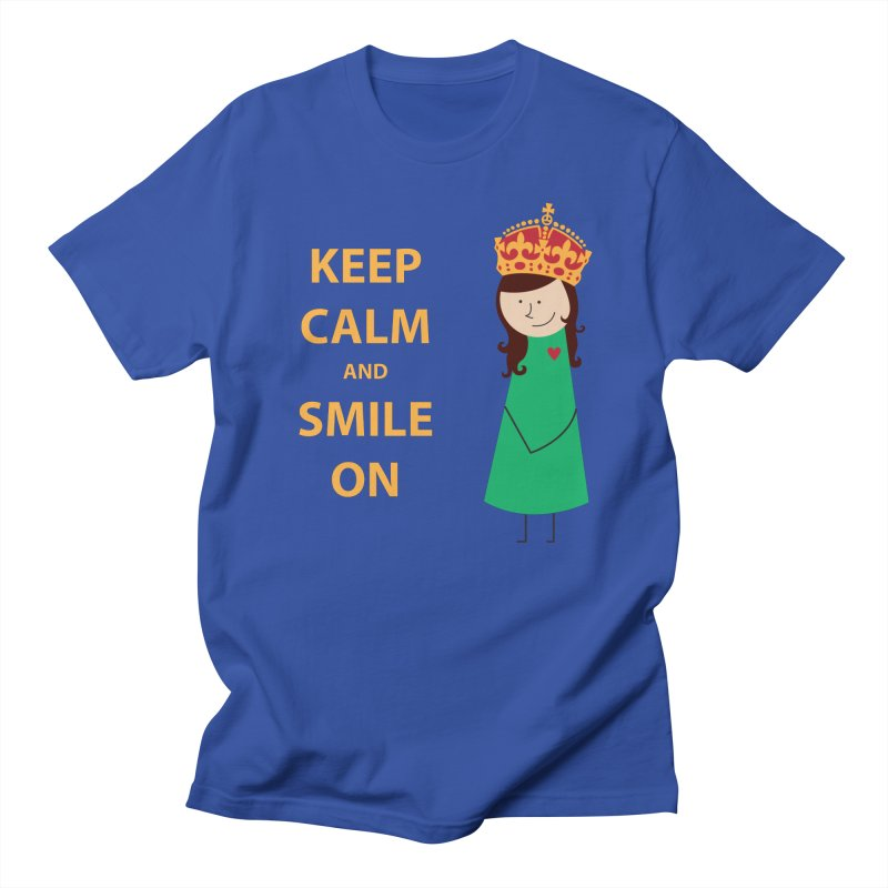 Smile On Men's T-Shirt by {mostly} Smiling Sticks