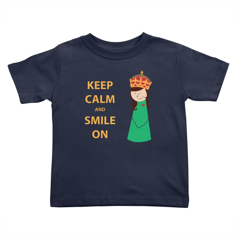 Smile On Kids Toddler T-Shirt by {mostly} Smiling Sticks