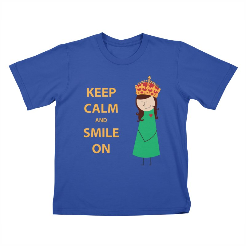 Smile On Kids T-Shirt by {mostly} Smiling Sticks