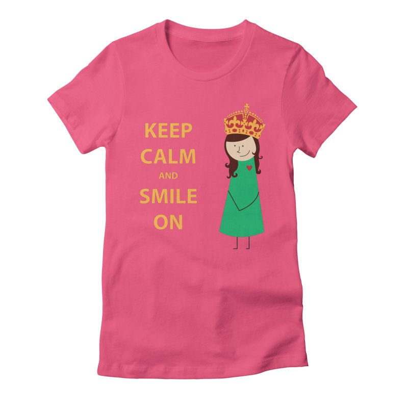 Smile On Women's T-Shirt by {mostly} Smiling Sticks