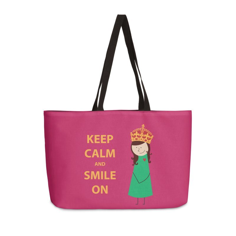 Smile On Accessories Bag by {mostly} Smiling Sticks
