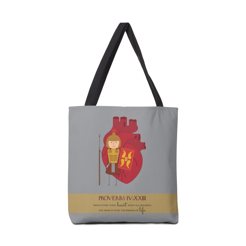 Guard Your Heart Accessories Bag by {mostly} Smiling Sticks
