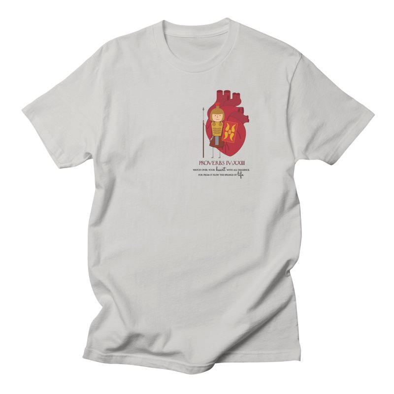 Guard Your Heart Men's T-Shirt by {mostly} Smiling Sticks