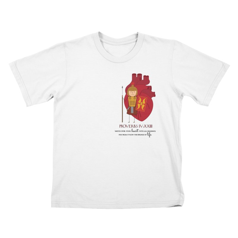 Guard Your Heart Kids T-Shirt by {mostly} Smiling Sticks