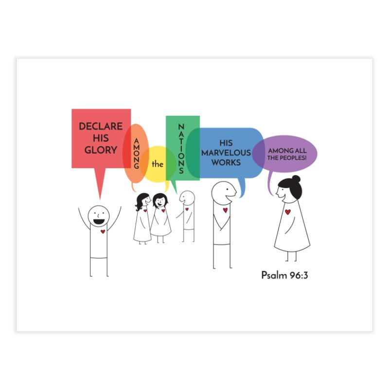 Talk of the Town Home Fine Art Print by {mostly} Smiling Sticks