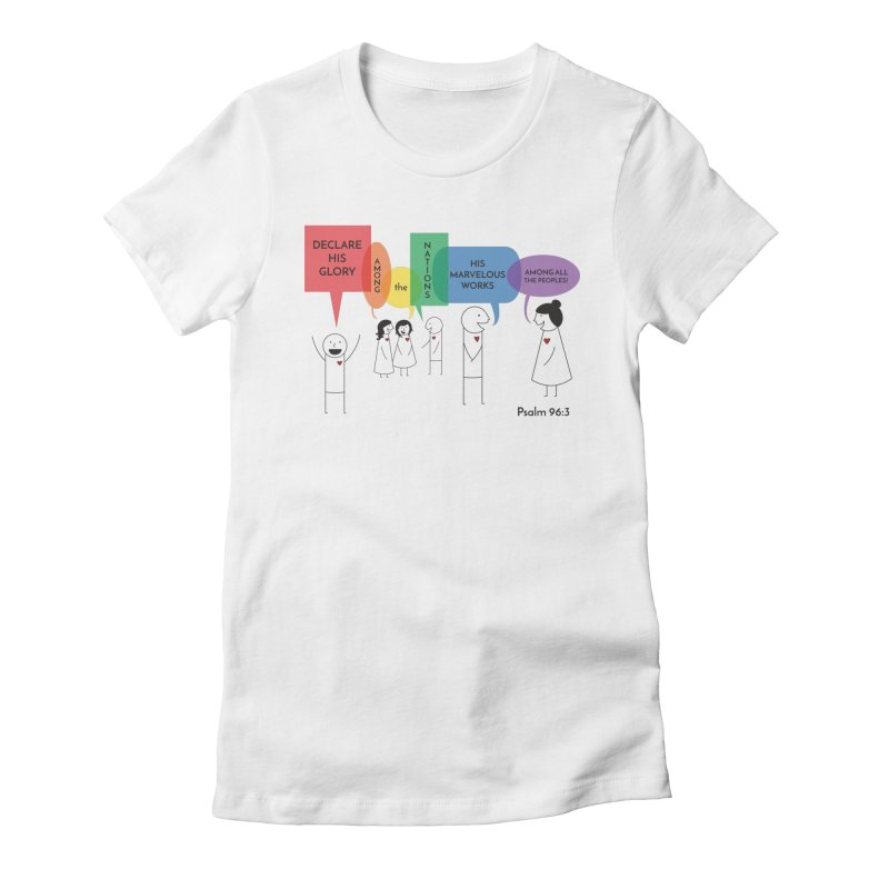 Talk of the Town Women's T-Shirt by {mostly} Smiling Sticks