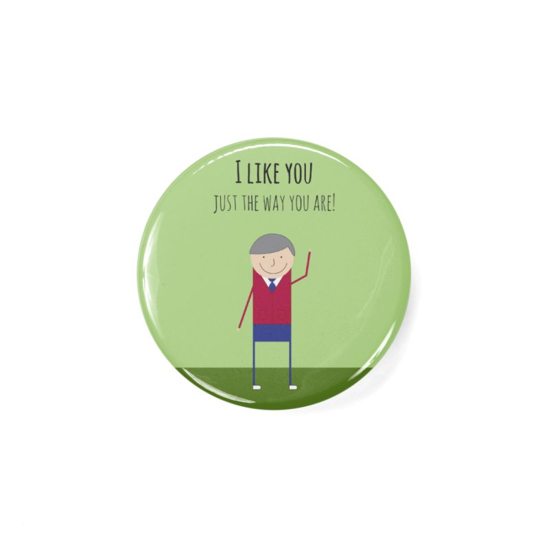 Mr. Rogers Accessories Button by {mostly} Smiling Sticks
