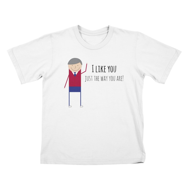 Mr. Rogers Kids T-Shirt by {mostly} Smiling Sticks