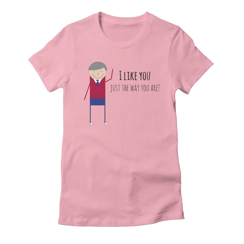 Mr. Rogers Women's T-Shirt by {mostly} Smiling Sticks