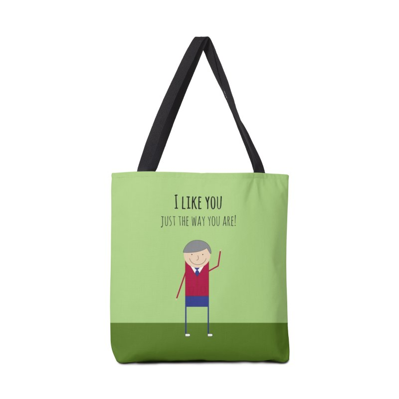 Mr. Rogers Accessories Bag by {mostly} Smiling Sticks