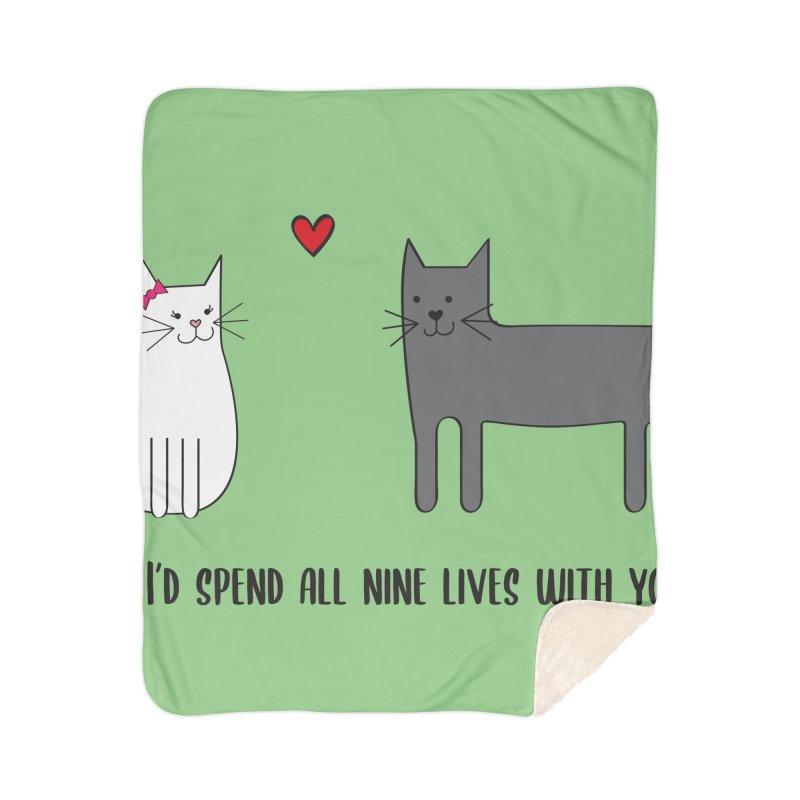 Nine Lives Home Blanket by {mostly} Smiling Sticks