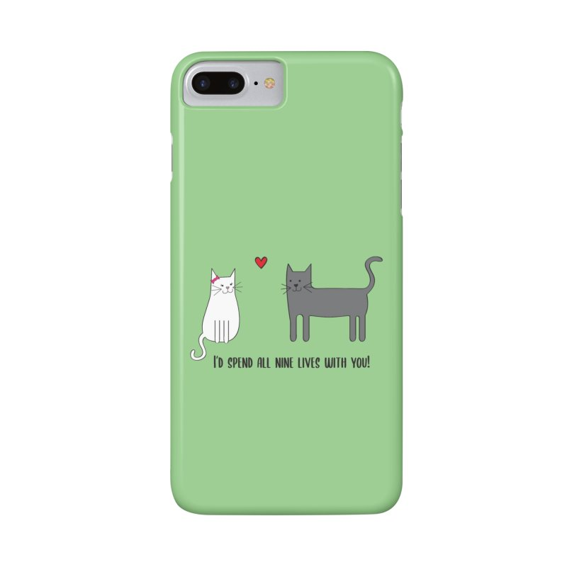 Nine Lives Accessories Phone Case by {mostly} Smiling Sticks