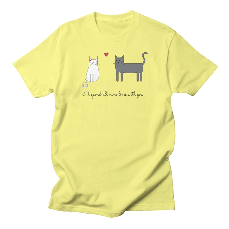 Nine Lives Men's T-Shirt by {mostly} Smiling Sticks