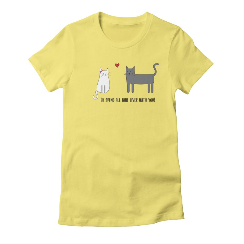 Nine Lives Women's T-Shirt by {mostly} Smiling Sticks
