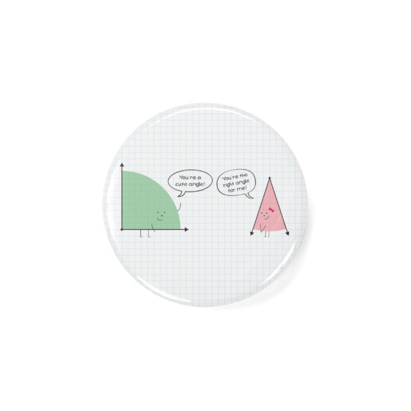 Angles Accessories Button by {mostly} Smiling Sticks