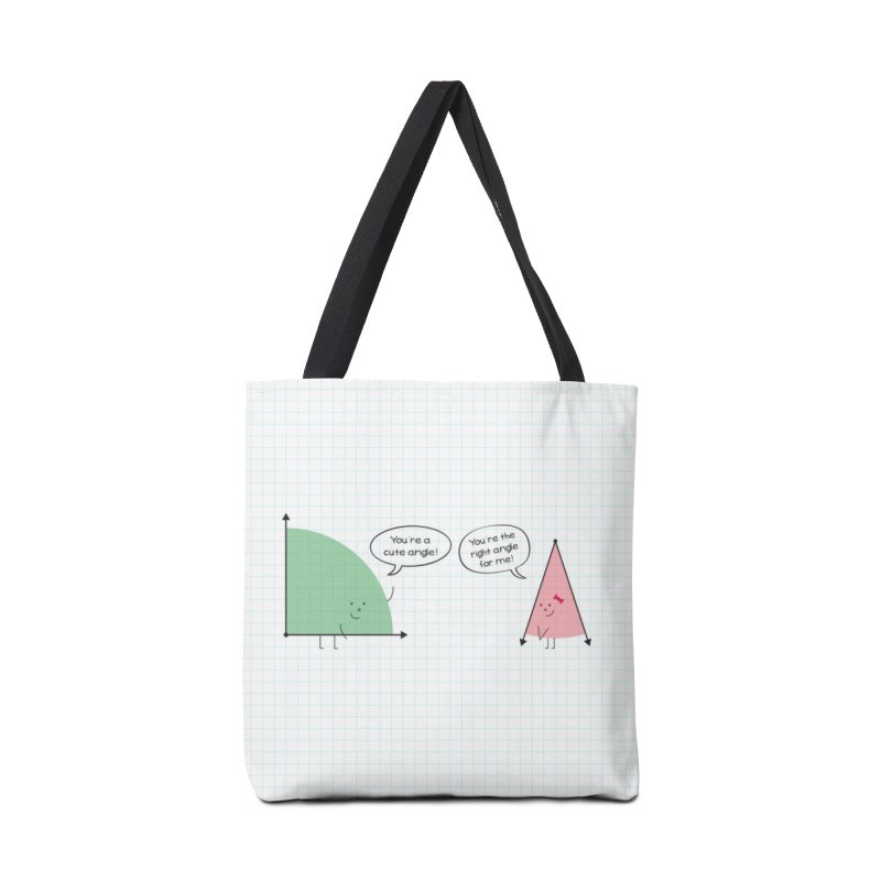 Angles in Tote Bag by {mostly} Smiling Sticks