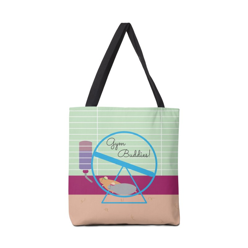 Gym Buddies Accessories Bag by {mostly} Smiling Sticks