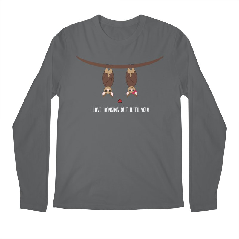 Hanging Out Men's Longsleeve T-Shirt by {mostly} Smiling Sticks