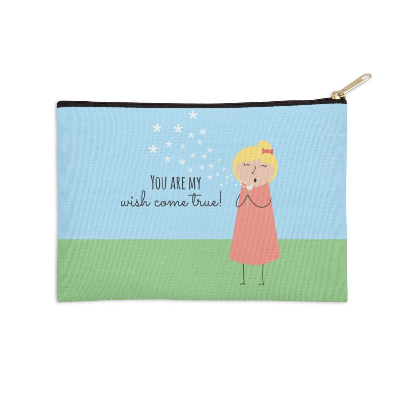 Wish Come True Accessories Zip Pouch by {mostly} Smiling Sticks