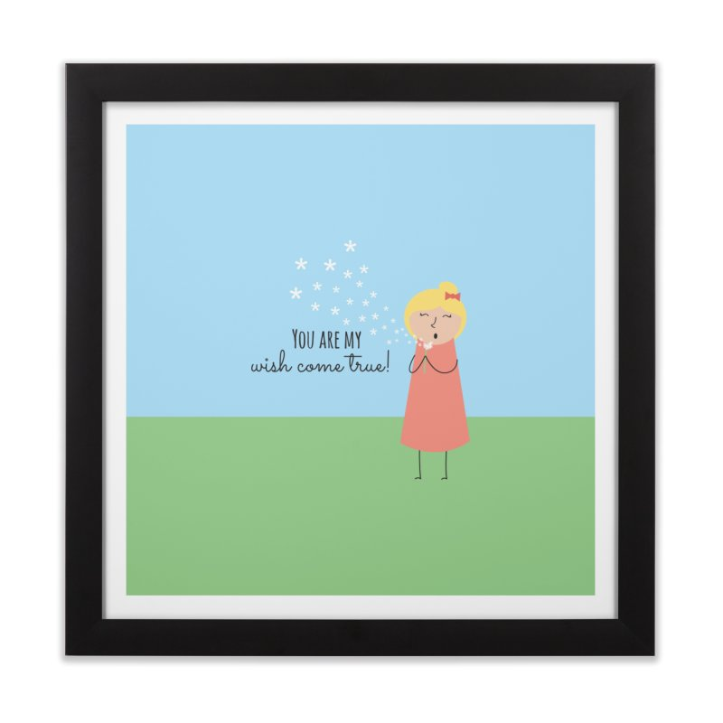 Wish Come True Home Framed Fine Art Print by {mostly} Smiling Sticks