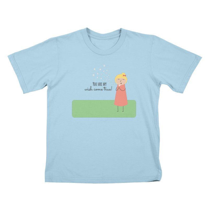 Wish Come True Kids T-Shirt by {mostly} Smiling Sticks
