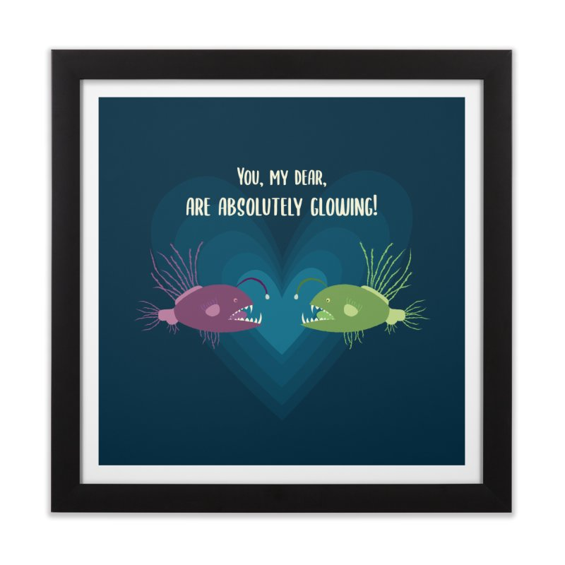 Glowing Home Framed Fine Art Print by {mostly} Smiling Sticks