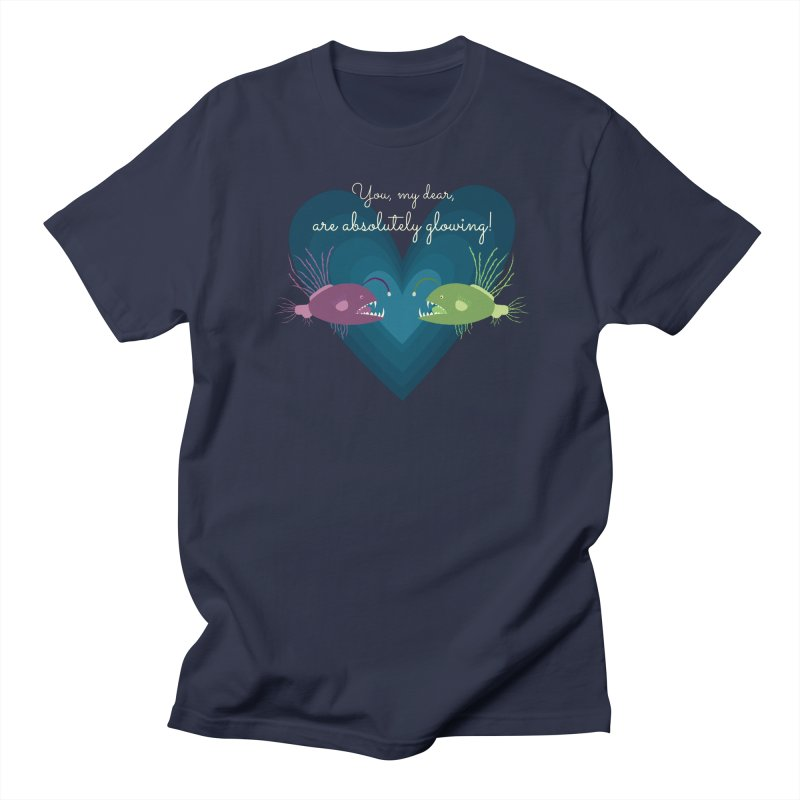 Glowing Women's Regular Unisex T-Shirt by {mostly} Smiling Sticks