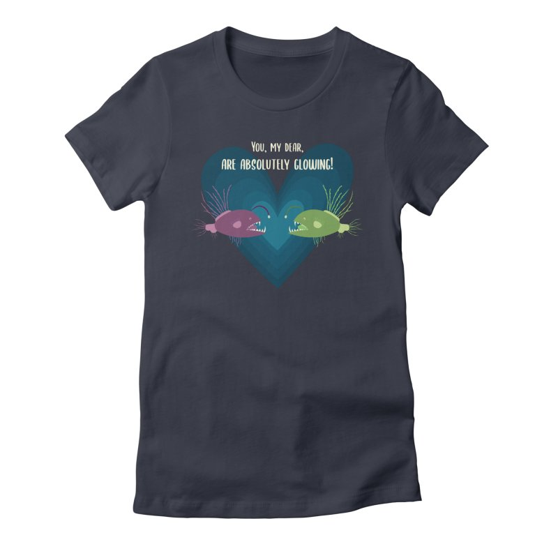 Glowing Women's T-Shirt by {mostly} Smiling Sticks