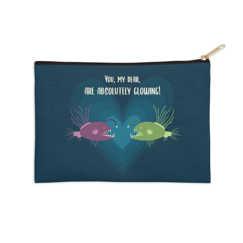 Glowing Accessories Zip Pouch by {mostly} Smiling Sticks